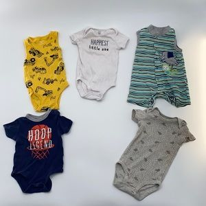 6/9 month onesies all for $8